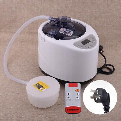2.6L Portable Steamer Pot Generator Home Spa Steam Bath Sauna Tent Body Therapy