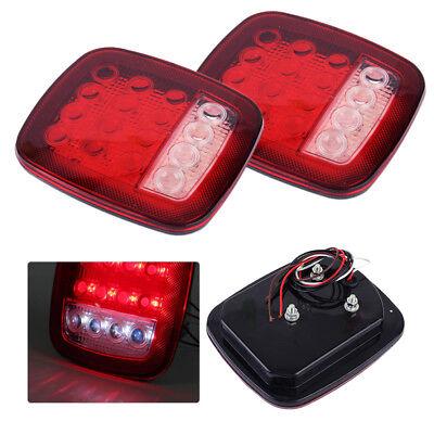 2x 12V 16 LED Rückleuchten Rücklicht LKW Heckleuchte bremslicht Anhänger