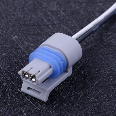2Pin Intake Air Temperature Sensor Connector Fit for IAT MAT ACT 25037334 Grey