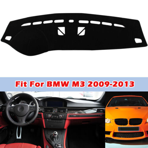 For BMW X3 2006-2010 Black Dashmat Dashboard Mat Dash Cover Sun Visor Pad
