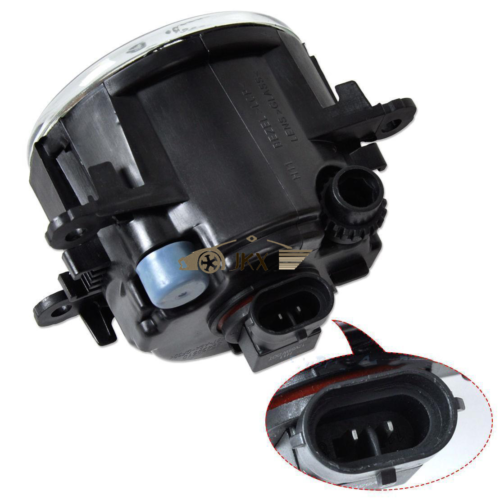 Fog Light Bumper Lamp W   Wiring For Mitsubishi Outlander