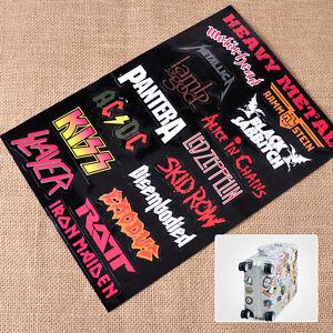 Heavy Metal Band Rock Metalic Luggage Skateboard Laptop Car Bumper Sticker Decor