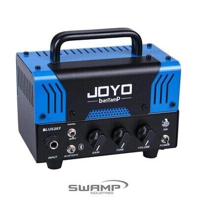 """JOYO banTamP """"Bluejay"""" 20 Watt Hybrid Tube Guitar Amplifier Head - Tweed Clean"""
