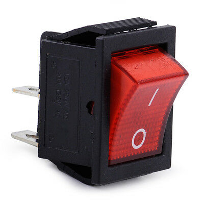 On-off Snap-in Ac 110v-220v 2 Position 4 Pin Power Control Boat Rocker Switch