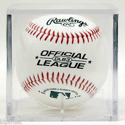 (12 BASEBALL CUBES BALL SQUARE DISPLAY CUBE CASE SQUARES)