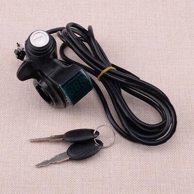 Pantalla Voltaje LED Acelerador 12-84V Para Scooter Bicicleta eléctrica Regalo