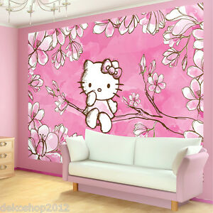 hello kitty tapete ebay. Black Bedroom Furniture Sets. Home Design Ideas