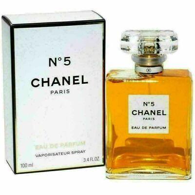 Chanel No 5 #5 - 3.4 oz 100 ml Womens Eau de Parfum Perfume Spray NEW SEALED BOX