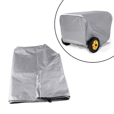 25 Grey Storage Cover Weather-resistant Dustproof For Portable Generator