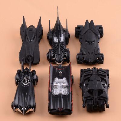 6stk/Pack 1: 64 Film Batman Modellauto Diecast Batmobil Model Kinder Spielzeug