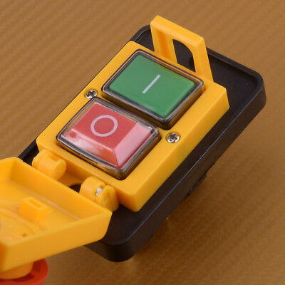 Nvr Stopstart Switch Button Emergency Onoff For Industrial Workshop 250v 15a