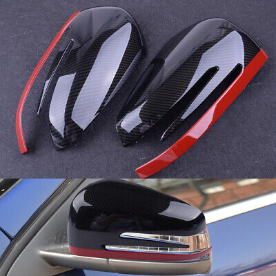 Rückspiegel Spiegelkappen Reflektor Trim für Mercedes Benz A CLA GLA GLK 14-17