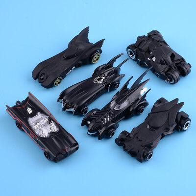 Set of 6pcs 1: 64 Batman Metall Modellauto Die Cast Batmobile Kinder Spielzeug
