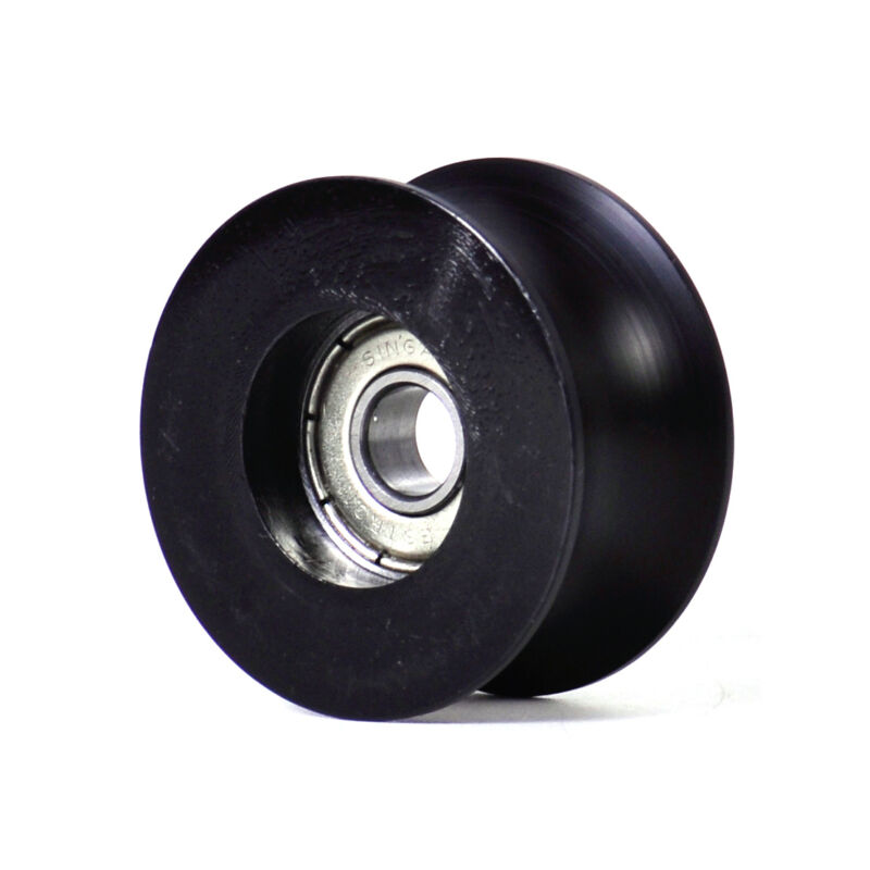 US Stock 0840UU 8mm 8x40x20.7mm Groove Guide Pulley Sealed Rail Ball Bearing