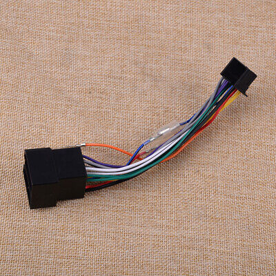 Fit for Pioneer DEH/MVH ISO Wiring Harness Connector Adaptor Lead Loom Cable New