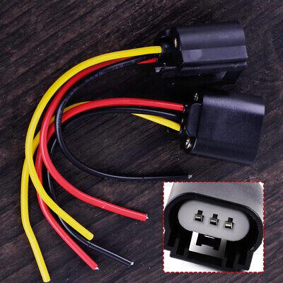 2x 9008/H13 Stecker Scheinwerfer Kabel Buchse Fassung Verbinder Adapter Auto OG (9008 H13-stecker)