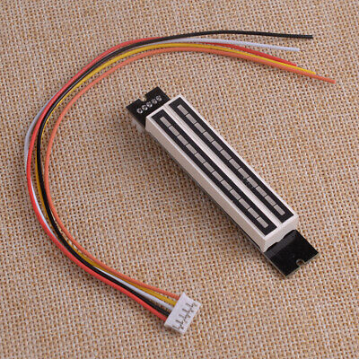 Mini Dual Led 12 Level Indicator Lamps Vu Meter Music Audio Display Analyzer Kit