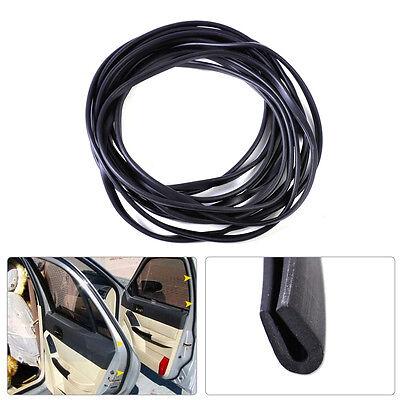 20ft Black Soft Flexible Rubber Weatherstrip Door Glass Run Channel Seal (Omega 3d Glasses)