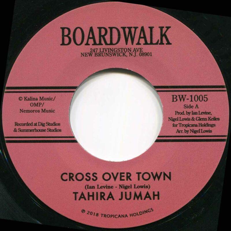 TAHIRA JUMAH CROSS OVER TOWN Soul Northern Motown