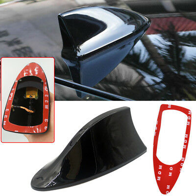 Car Universal Shark Fin Style Roof Antenna Aerial FM AM Radio Signal Replacement