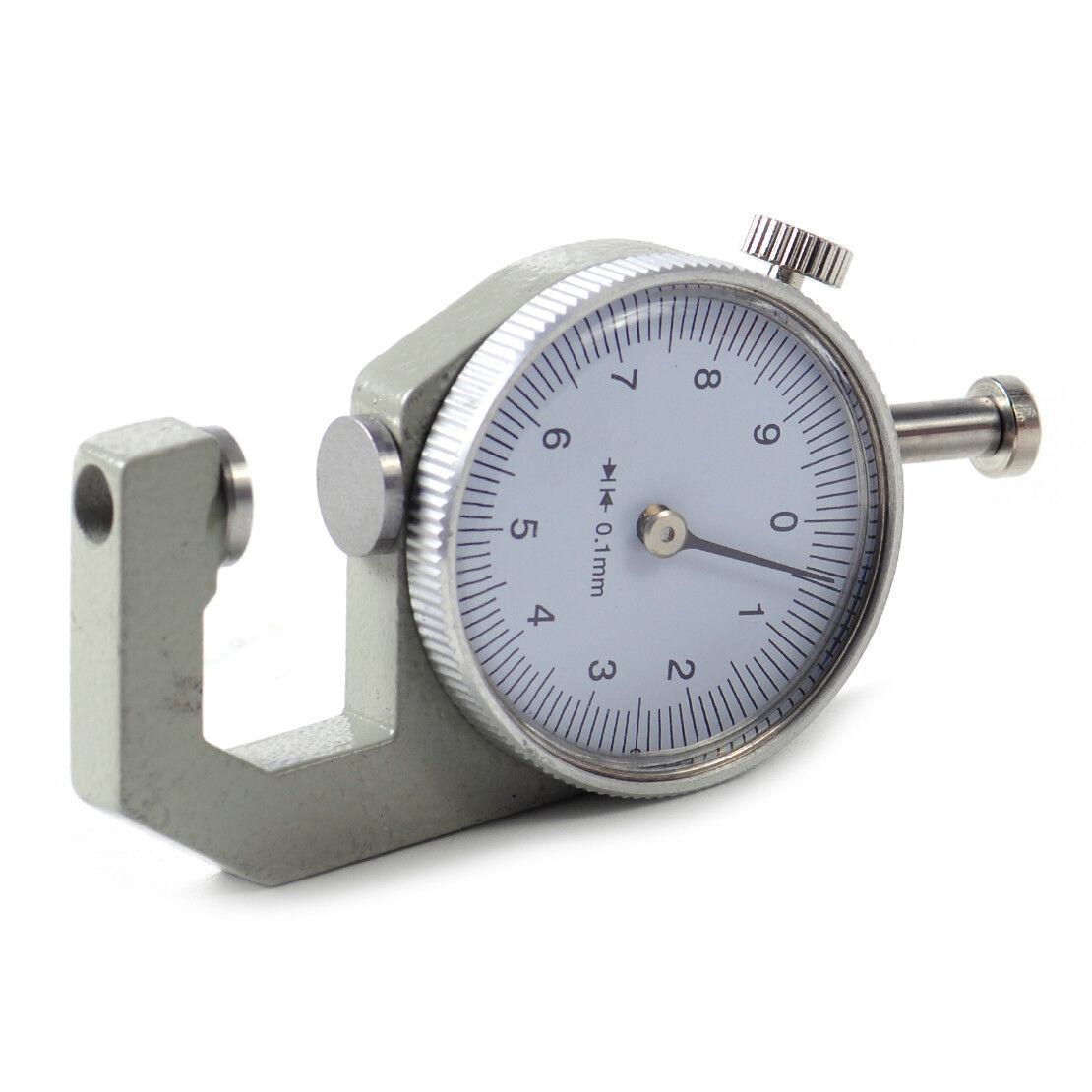 0-0,8mm Edelstahl Messuhr Hebelanzeige zur Messung von Innen und
