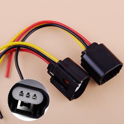 2stk 9008/H13 Stecker Scheinwerfer Kabel Buchse Fassung Verbinder Adapter Auto (9008 H13-stecker)