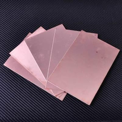 5x Double Side Copper Clad Laminate Pcb Printed Circuit Board Diy Fr4 10 X 15cm