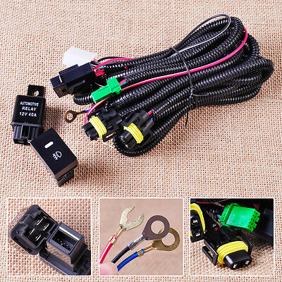 fog light wiring harness sockets wire led indicators switch fog light wiring harness sockets wire led indicators switch relay fit ford