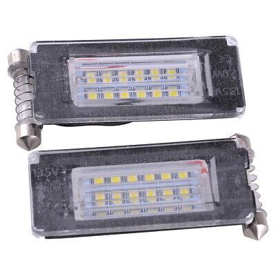 Frei-licht-lampe (Passt für MINI Cooper R56 R57 R58 R59 Lizenz Fehlerfrei Teller 18 LED Licht Paar)