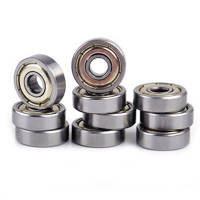 10pcs 625 625zz Miniature Ball Bearings Mini Shielded Deep Groove 5x16x5mm