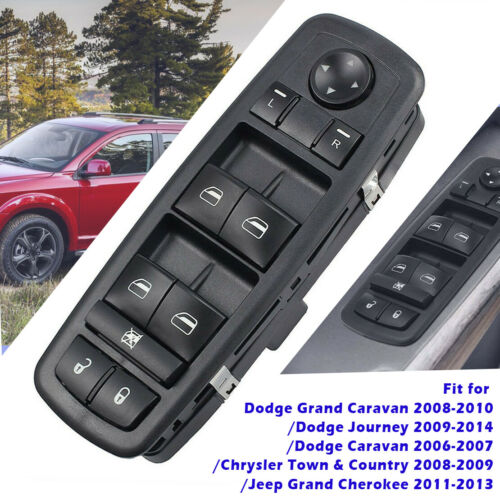 Fits Master Power Window Switch Replacement for 2009-2014 Dodge Journey Switch Doctor