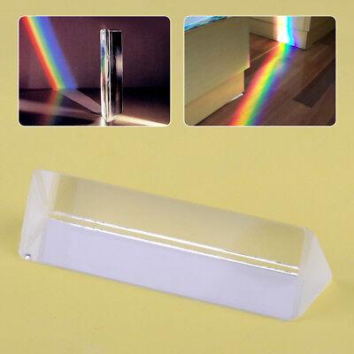3 Optical Glass Triangular Prism For Physics Light Spectrum Teaching Experiment