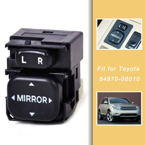 Power Control Mirror Switch 84870-08010 Fit for Toyota Camry Sienna RAV4 Corolla