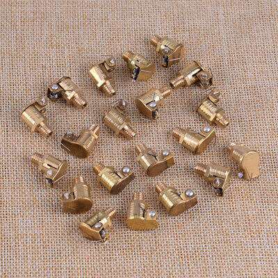 Lot 20 M6 X 1mm 6mm Od Brass Grease Oil Cup Oiler Spring Cap Hit Miss Engine