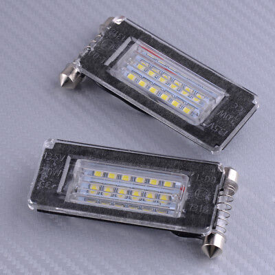Frei-licht-lampe (Auto Fehlerfrei 2 Stücke Kennzeichen für MINI Cooper R56 R57 R58 R59 Licht 18LED)