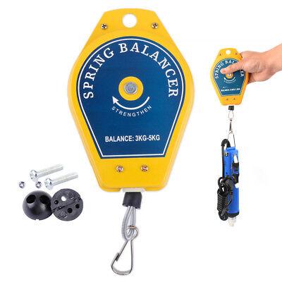 Spring Balancer Tool Retractable Fixtures Holder Strengthen Hanging 3kg-5kg