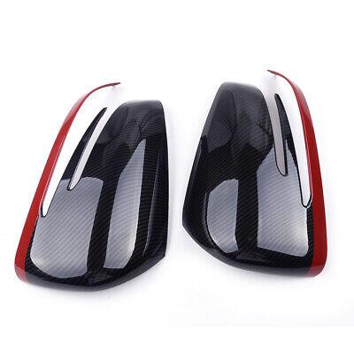 Außenspiegelkappen Kohlefaser Muster Trim für Mercedes Benz A CLA GLA GLK 14-17