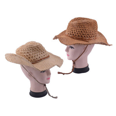 Texas Karneval Fasching Cowboy-Hut Western Cowgirl Stroh Hüte TREND