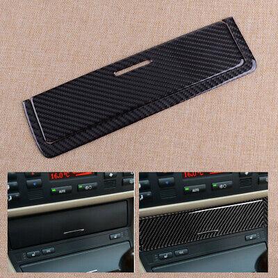 Carbono fibra Consola Cenicero almacenamiento panel Cubierta para BMW 3serie E46