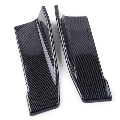 2pcs Auto 35cm Seitenschweller/Heckspoiler Lippe Splitter Diffuser Flaps