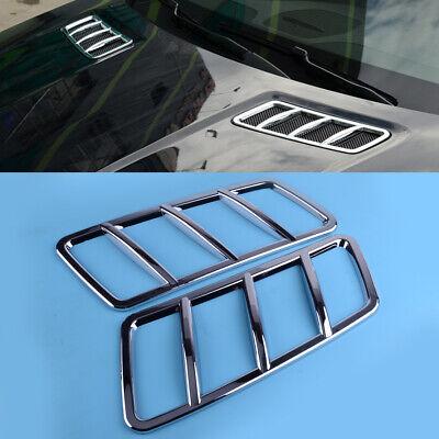 2stk Hood Motor Air Vent Outlet Abdeckleiste Für Mercedes-Benz ML W166 GL GLE
