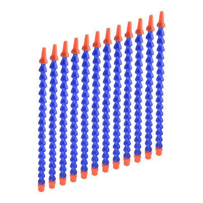 12x 12 Plastic Flexible Water Oil Coolant Pipe Hose Nozzle For Cnc Machine