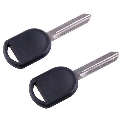 2x Car Ignition Enter Key Blank Shell Uncut Blade Fit Ford Lincoln Mazda Mercury