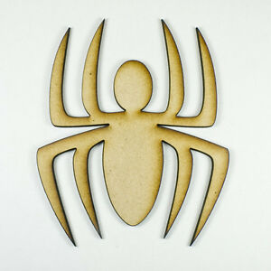 MDF-Wood-Wooden-Shape-Shapes-Spider-Cutout-for-Craft-Home-Room-Decor-Fun-Kids