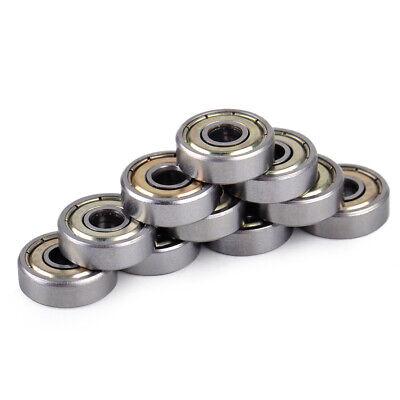 10x 625 625zz Miniature Ball Bearings Mini Shielded Deep Groove 5 X 16 X 5mm Wh