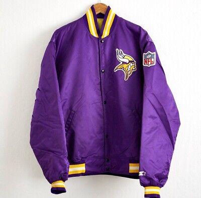 1980s Minnesota Vikings Starter Jacket XXL Vintage Authentic NFL Proline Coat