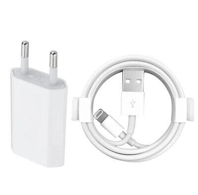 CARGADOR USB + CABLE PARA IPHONE 6 6S 7 8 PLUS X...