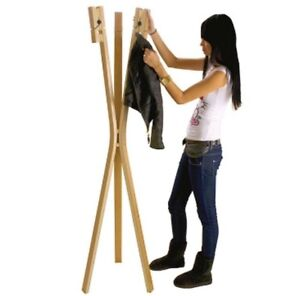 Leitmotiv Coat Stand with Giant Clothes Pegs