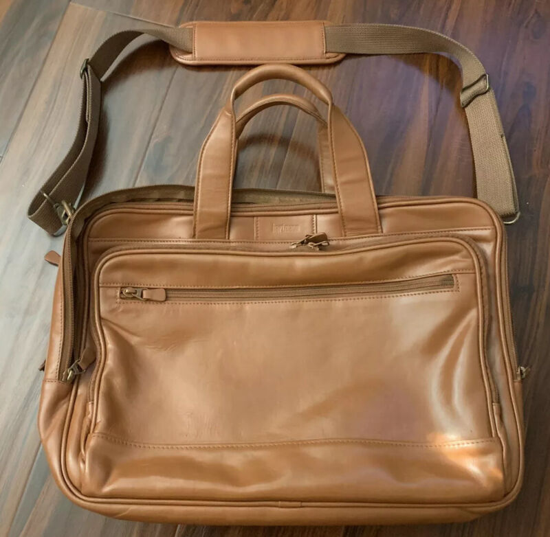 Hartmann Expandable Reconditioned Leather Bag