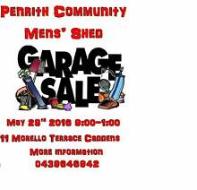Penrith Community Mens' Shed Garage Sale Kingswood Penrith Area Preview